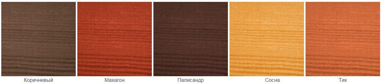 Altax Impregnat Ogrodowego (Импрегнат Огродовего) - выкраска - Однослойная защитно-декоративная пропитка для садовой древесины