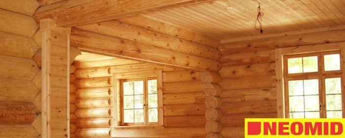 Огнебиозащита для деревянных поверхностей - Neomid ОЗП (Неомид ОЗП) группа №2.