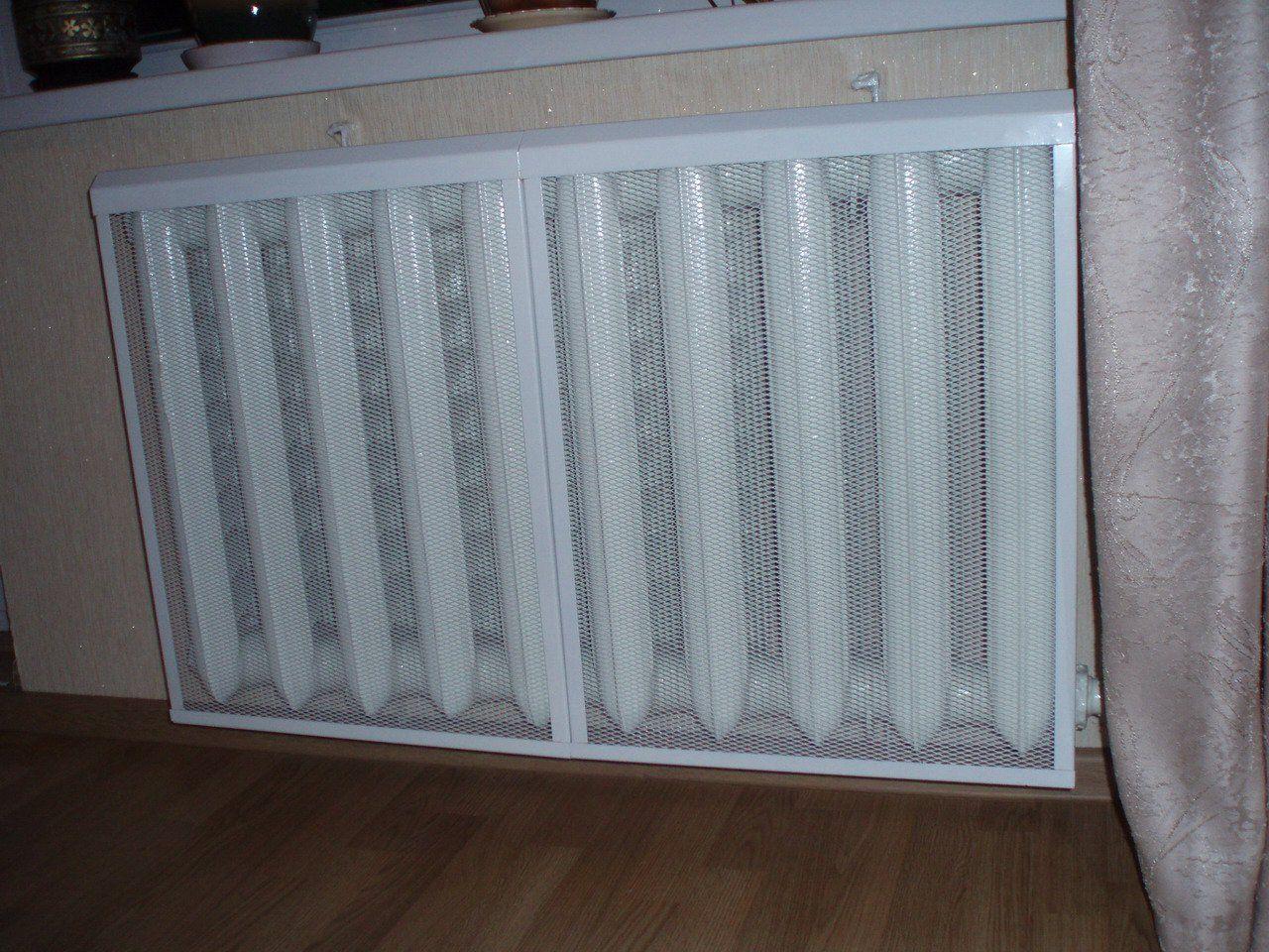 Экраны для батарей отопления (радиаторов) обладают высокой теплоотдачей.