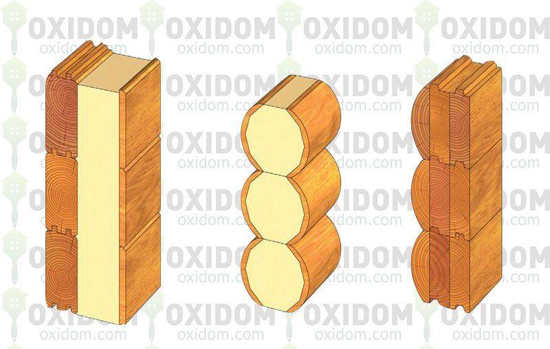 Дом из бруса: проблемные места стыкования древесины с другими материалами.