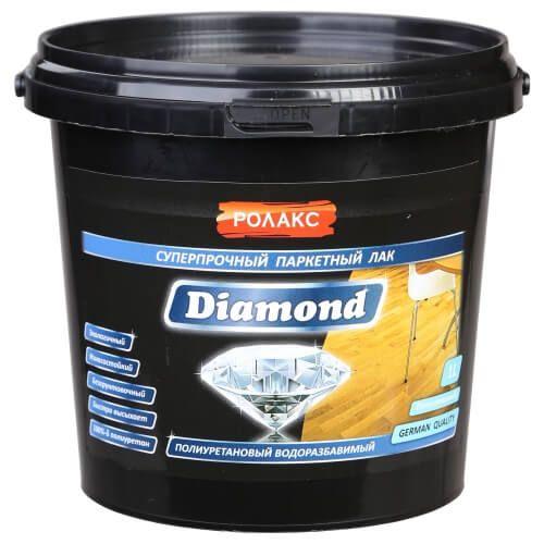 Купить паркетный лак Rolax (Ролакс) «Diamond» Premium по цене 260 грн. в Oxidom (ОксиДом)