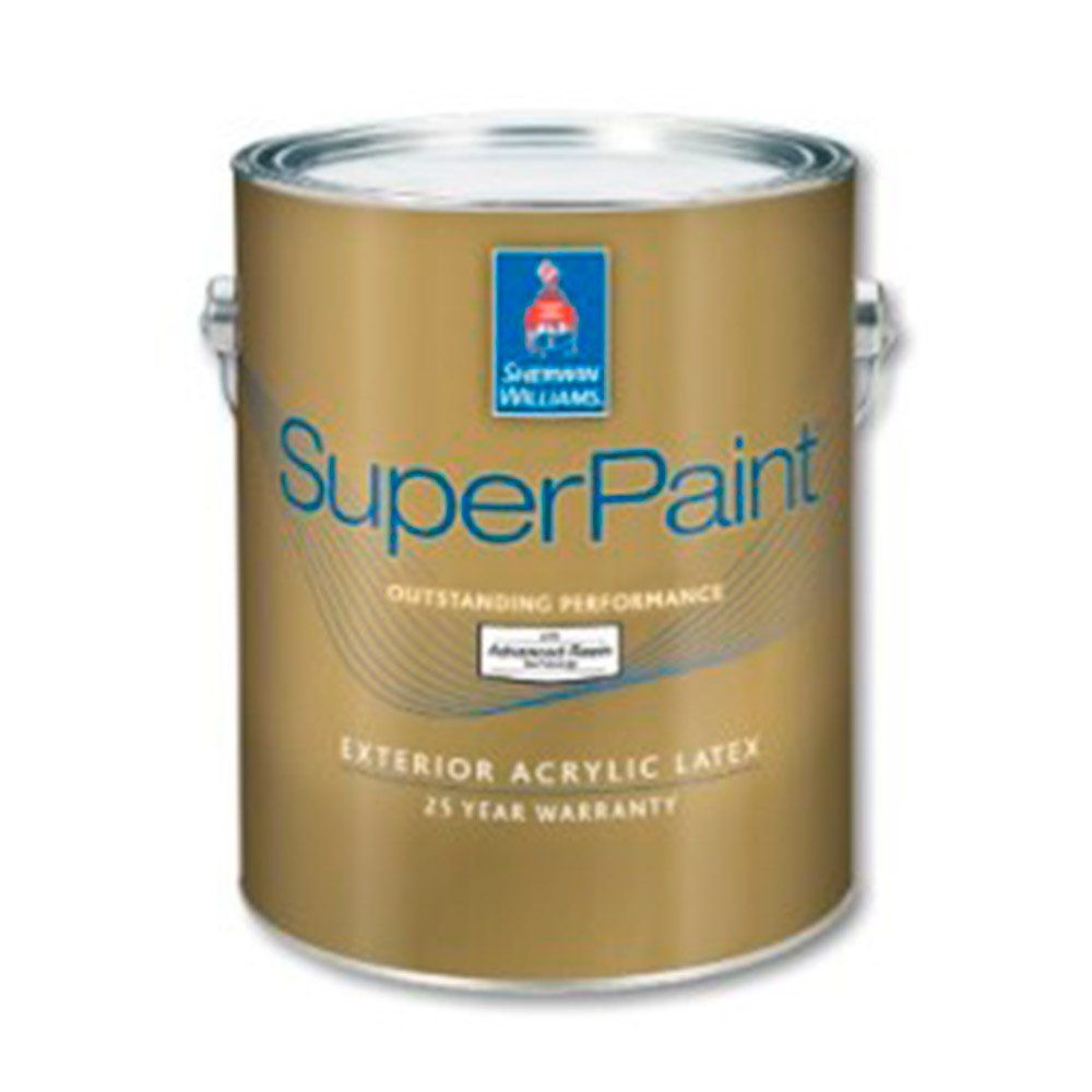 Sherwin Williams - Краска SW SuperPaint Exterior Latex Матовая